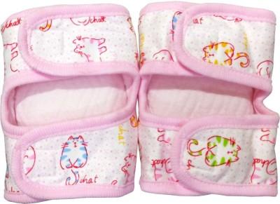 Soft Knee Protectors 02 Pink Baby Knee Pads