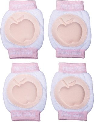 Mee Mee Protective Pink Baby Knee Pads