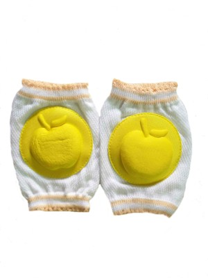 Adore Soft Cushioned Yellow Baby Knee Pads