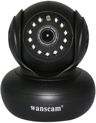 Wanscam Wifi Wireless Remote Pan/Tilt Rotate Handheld Night Vision Camera Upnp Wifi Support 32G TF Card IP Cam Black(Audio & Video)
