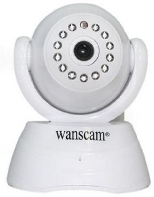 Wanscam Wireless 2-Way Audio Baby Monitor Security Surveillance Ipc-IR Infrared Network White(Audio & Video)