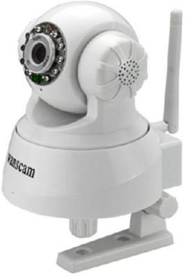 Wanscam Motorised Indoor Webcam - Wireless - Day/Night (white)(Audio & Video)