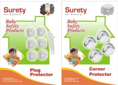 Surety For Safety Plug Protector, Corner Protector