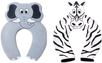 Anantha Baby Door Stopper Elephant and Zebra
