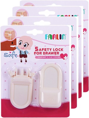 Farlin Safety Lock For Drawers 4Pcs