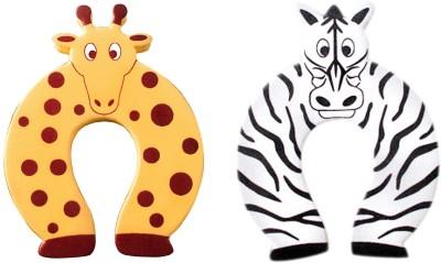 Anantha Baby Door Stopper Zebra &Giraffe