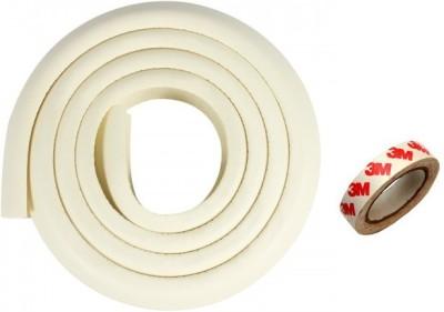 Kuhu Creations Edge & Corner Guards 2M Crash Bar Children Safety Edge Guards Strip with 3M Tape
