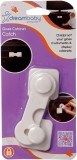 Dream Baby Glass Cabinet Latch (White)