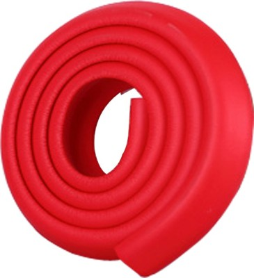 Little Grin Red Color Baby Safety Cushion Glass Table Edge Corner Guard With 3m Self Adhesive Tape