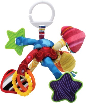 Lamaze Tug and Play Knot Rattle