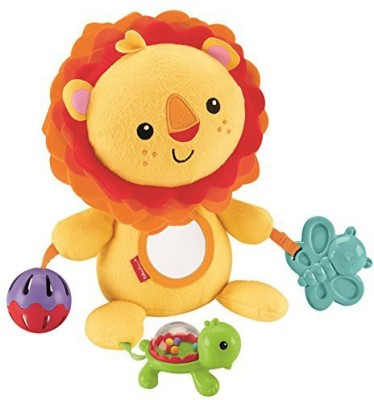 Fisher-Price Activity Toy, Lion Rattle