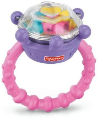 Fisher-Price Brilliant Basics Diamond Ring Rattle (Discontinued by Manufacturer) Rattle