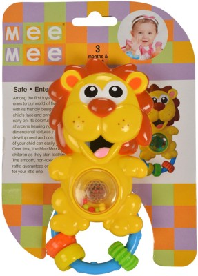 Mee Mee Lovely Lion Rattle Rattle