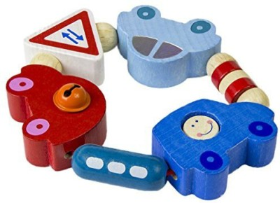 Haba Clutching Toy - Toot Toot Rattle