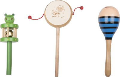 Airwind wooden Comboset Green Tik Tik V1 Rattle