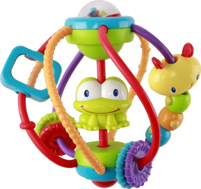 Bright Starts Clack & Slide Activity Ball Rattle