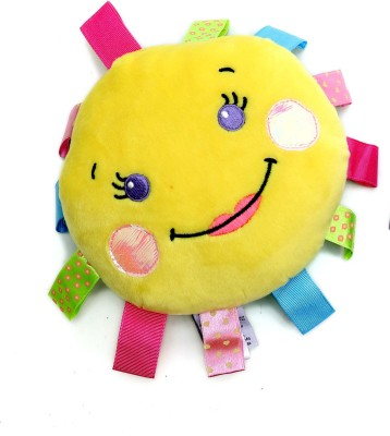 Skylofts Cute Imported Smiley soft stuffed baby Rattle(Multicolor)