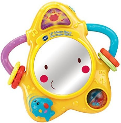 VTech Baby Lil, Critters Sing and See Magic Mirror Rattle