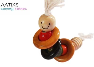 AATIKE Gongali - Gummy Teethers Rattle