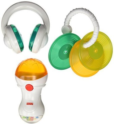 Fisher-Price Rockin, Gear Gift Set (Discontinued by Manufacturer) Rattle