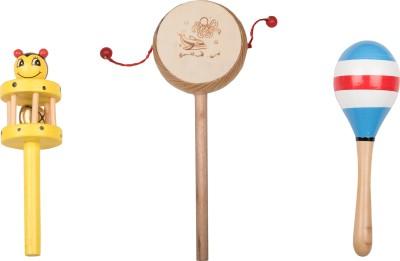 Airwind Wooden Comboset Yellow Tik Tik V7 Rattle