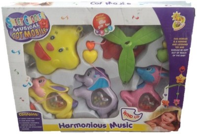 OZ BABY MUSICAL COT D058 Rattle