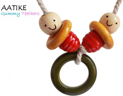 AATIKE Tootie - Gummy Teethers Chain Rattle(Multicolor)
