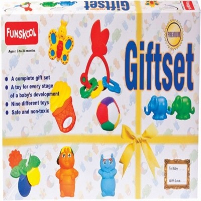 Funskool Gift Set Premium Refresh Rattle