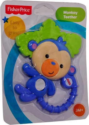 Fisher-Price Y6584 Monkey Teether Rattle