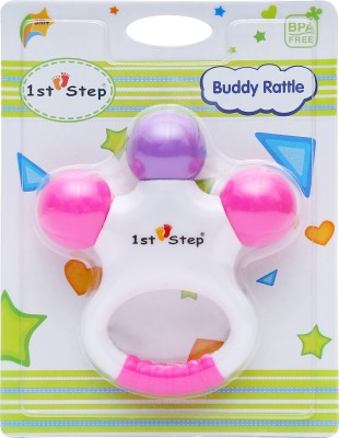 1st Step Buddy Rattle Rattle(Multicolor)