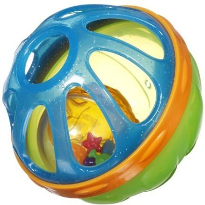 Munchkin Baby Bath Ball, Colors May Vary Rattle