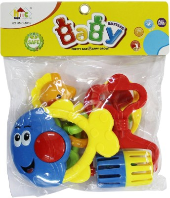 Stuff Jam Baby Rattles Rattle(Multicolor)
