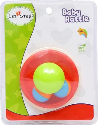 1st Step Mushroom Tumbler Rattle(Multicolor)