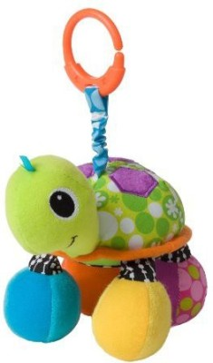 Infantino Topsy Turtle Mirror Pal Rattle