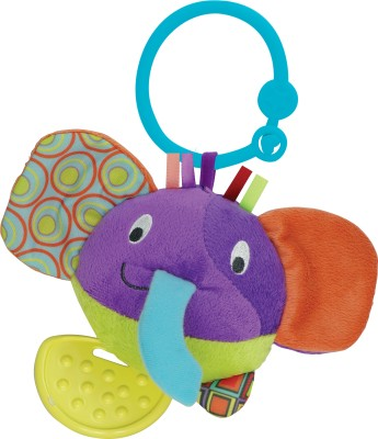Winfun Little Pals Round Timber the Elephant Hand Rattle