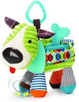 Skip Hop Bandana Buddies Activity Toy, Puppy Rattle