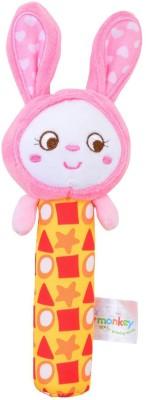 Baby Bucket Soft Animal Plush Rattle
