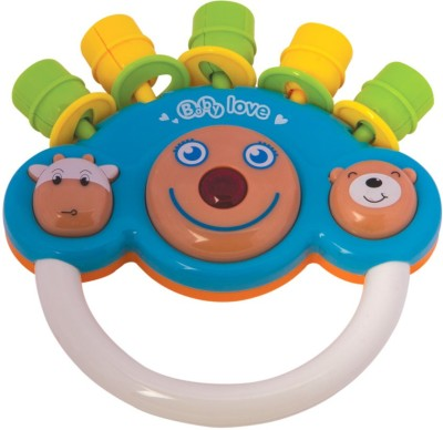 Mee Mee Cheerful Rattle_MM-3909_Blue Rattle