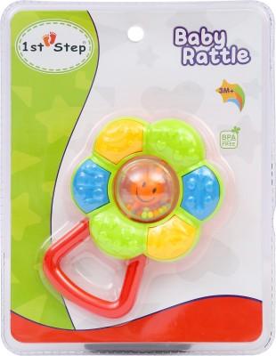 1st Step Flora Rattle Rattle(Multicolor)