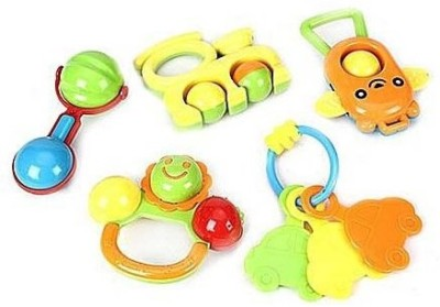 Baby World Non Toxic 5PC Rattle