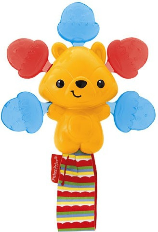 Fisher-Price Woodland Friends Click Clack Rattle(Multicolor)