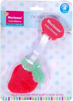 Morisons Baby dreams Yummy Berry Teether Rattle