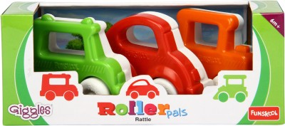 Funskool Roller Pals 3-in-1 Combo Rattle