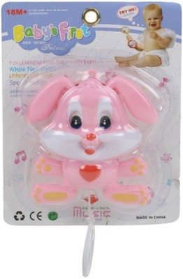Turban Toys Musical Cradle Bell Rabbit Toy Rattle