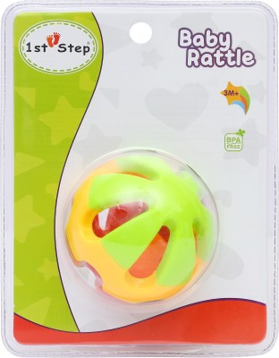 1st Step Rock ball Rattle(Multicolor)