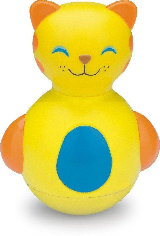 Funworld Kitty Roly Poly(Yellow)