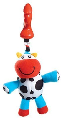 Tiny Love Smarts Clip on Toy, Chloe Cow Rattle