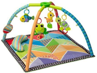 Infantino Pond Pals Twist and Fold Activity Gym and Play Mat Rattle