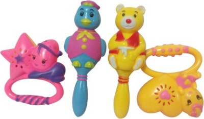 Khareedi Set of Four Baby Rattles Rattle