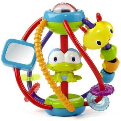 Bright Starts Clack and Slide Activity Ball Rattle